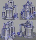 10几个等级的部落冲突中的水罐maya模型