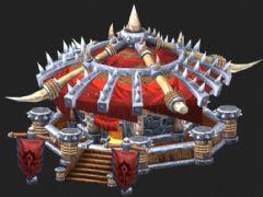 魔兽要塞建筑3D模型