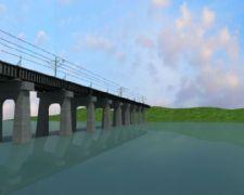 桥梁延伸生长动画