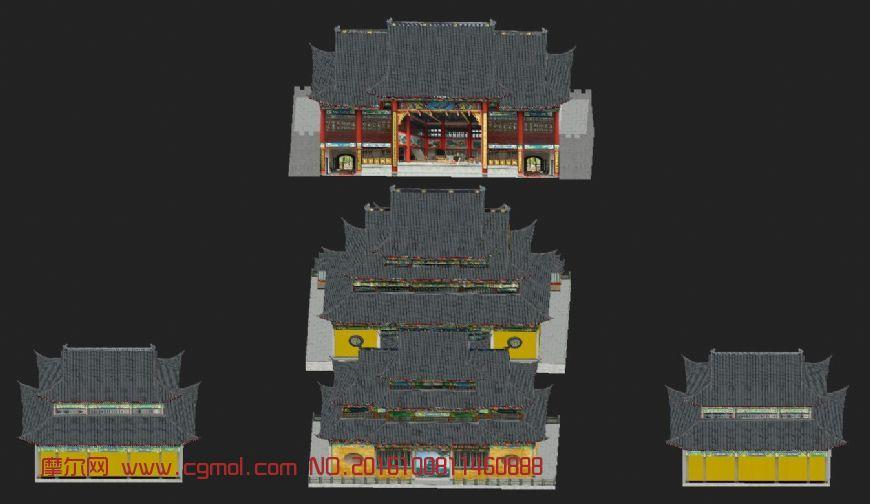 城隍庙3D模型