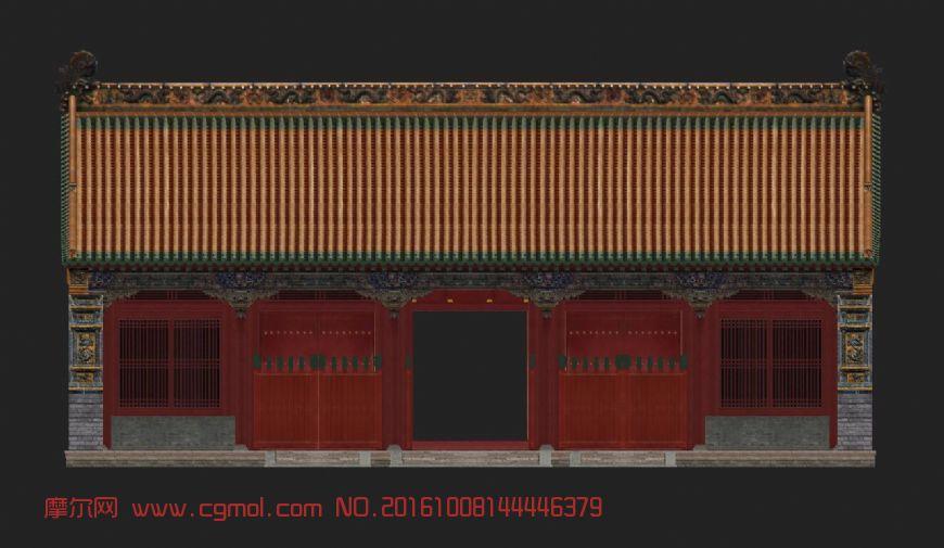 清朝沈阳故宫,古建筑