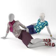时尚橱窗女模特模型