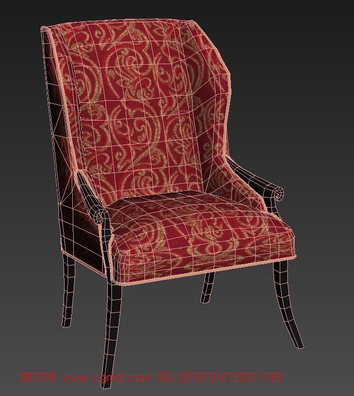 标签:欧式椅子凳子简模布艺沙发