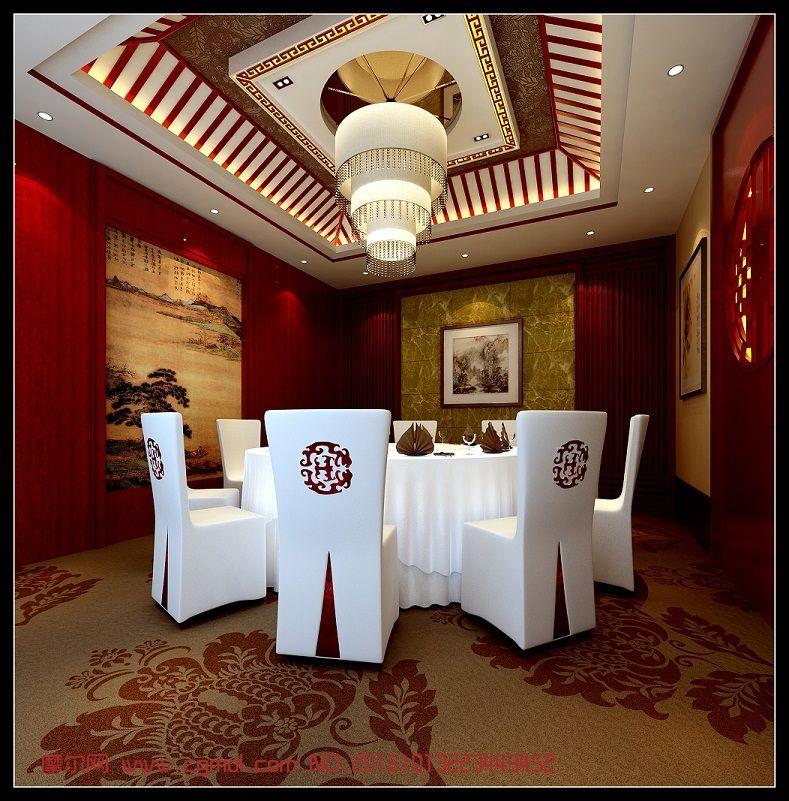 室内模型 室内家具  标签:中式包间包房包厢餐厅餐馆 作品描述:模型