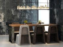 室内工业风桌椅模型