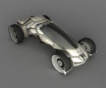 科幻小车 交通工具