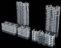 小区高低层楼盘设计