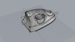 电熨斗3dm模型