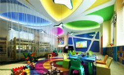 色彩缤纷的幼儿园教室