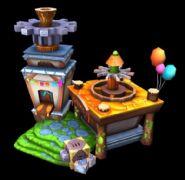卡通可爱风格的房屋建筑maya模型