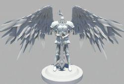 审判天使maya模型