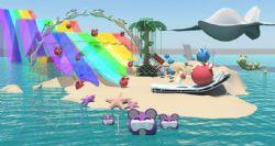 老鼠们的海上游乐园maya模型