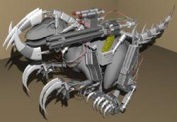 带武器加特林攻击装置的机器恐龙188bet开户,很酷很暴力