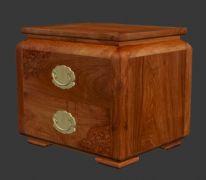 红木家具-床头柜