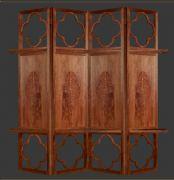 红木家具-屏风