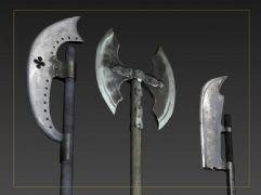 西方冷兵器 斧子 砍刀 古代战争武器