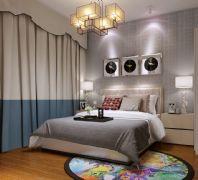 现代艺术风格卧室一