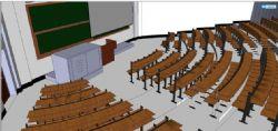 武汉大学 计算机院教室
