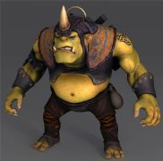 DOTA2炼金术士,兽人2K贴图高模