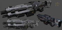科幻枪模型