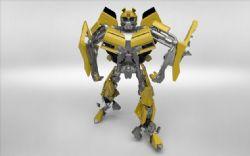 炫酷无敌经典的大黄蜂模型