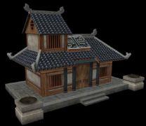 一个简单的民宅房屋