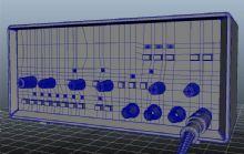 信号发生器Maya模型
