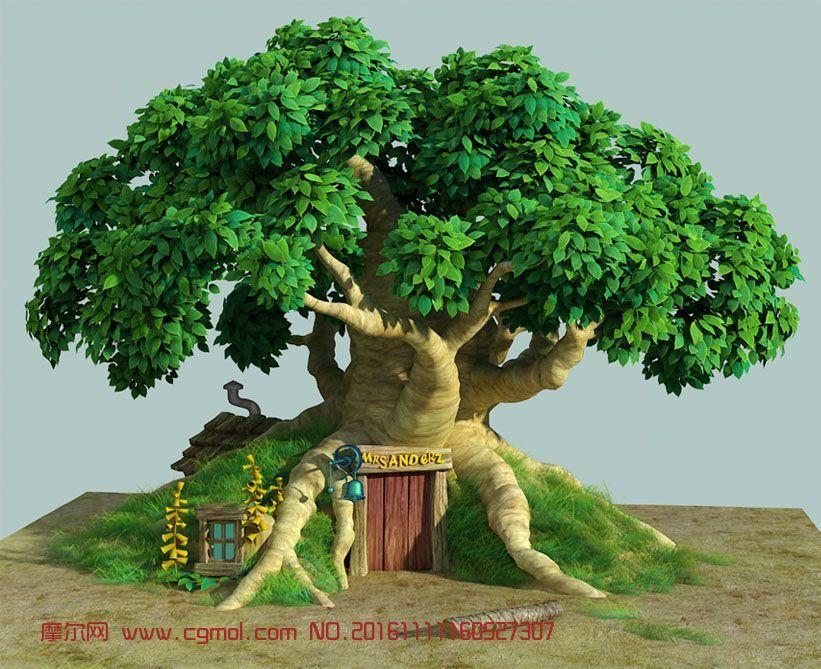 迪斯尼维尼小屋,维尼熊的树屋