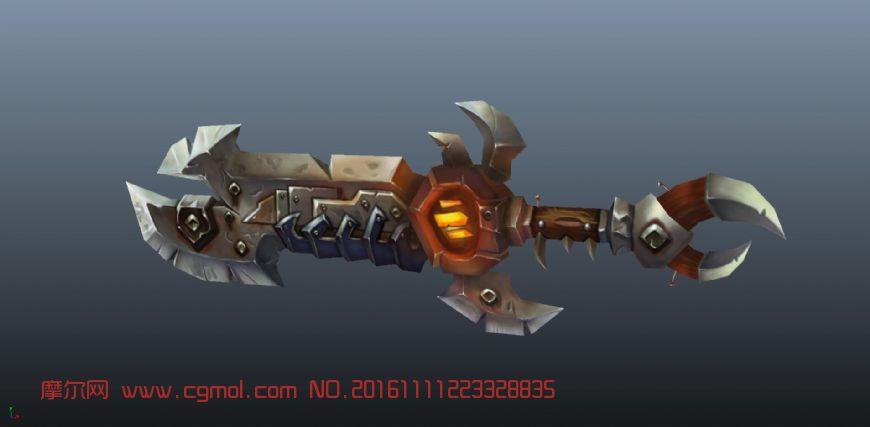 魔兽风格大剑