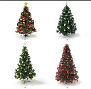 四棵圣诞树