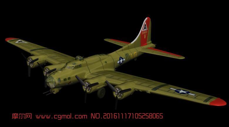 B17飞机