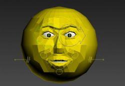 带骨骼绑定动画和表情的蛋