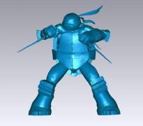 拉斐尔/伟夫Raph-忍者神龟3D打印
