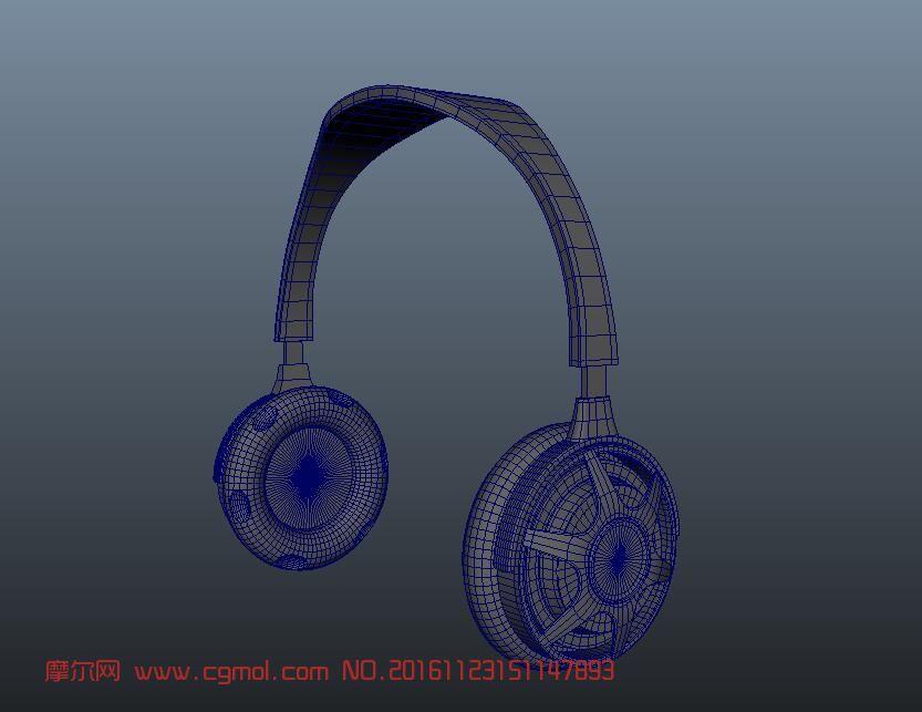 maya耳机制作