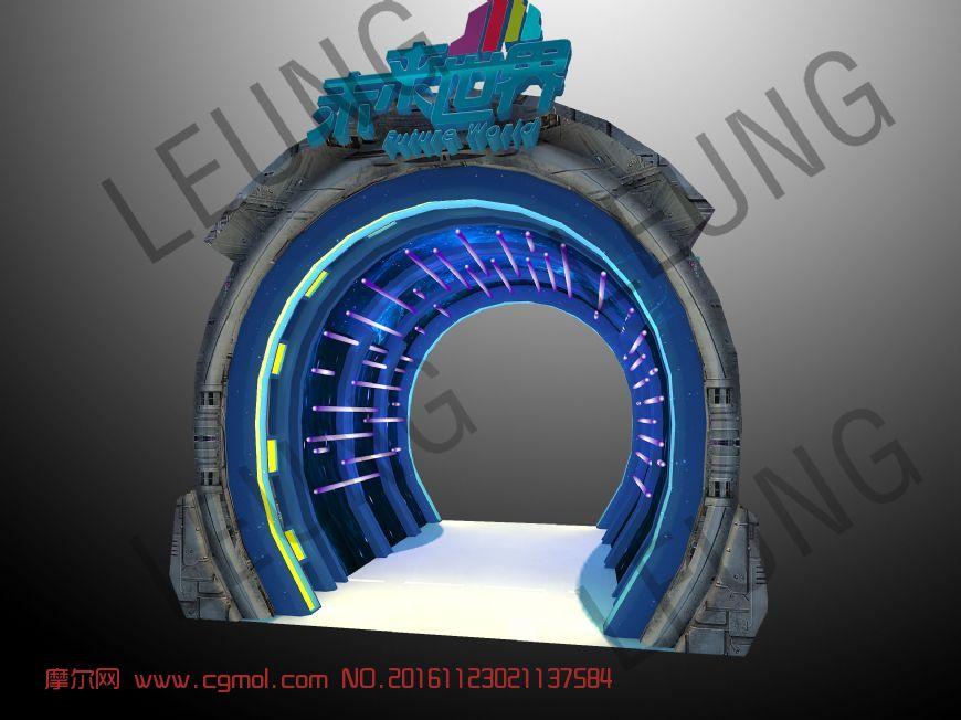 未来世界时空隧道