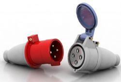 带塑胶保护套的圆形四孔插头,3ds,max,gsm三种格式
