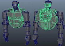 亚当-铁甲钢拳中的拳击机器人