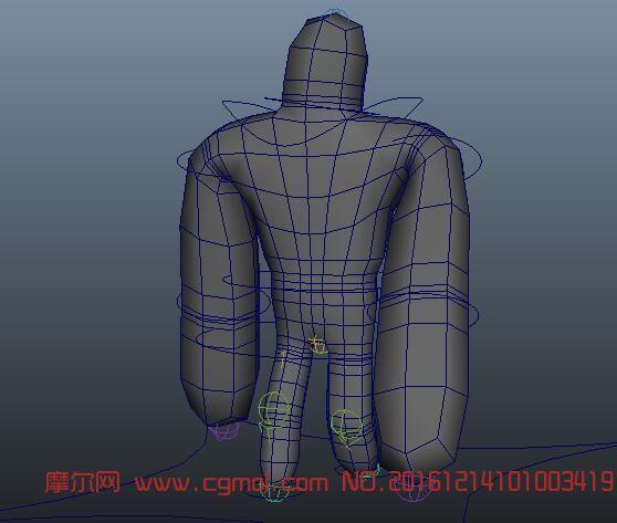 人物动作基础模型―走路