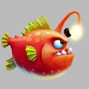 灯笼鱼,捕鱼游戏,max,fbx格式