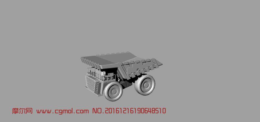 矿车犀牛建模