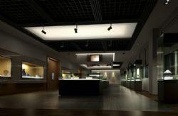 稳重大气的文物展厅模型