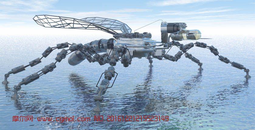 未来巨型仿生蚊子,海上着陆攻击器