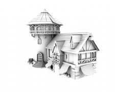 堡垒房子场景