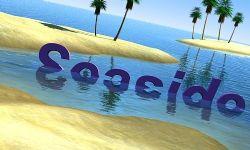 清澈海水沙滩LOGO