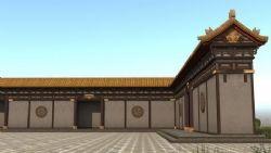 围墙回廊,中国古典建筑