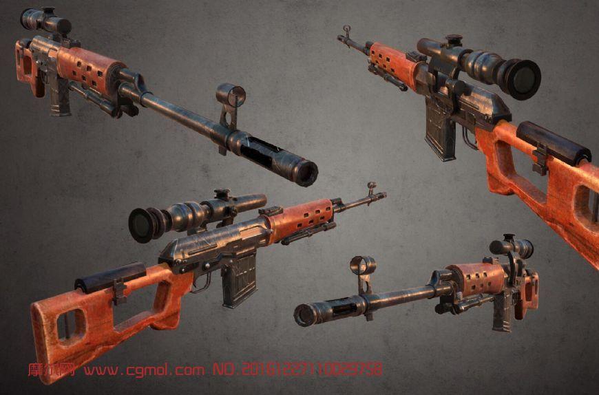 次世代制作方法―SVD狙击步枪