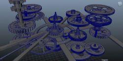 maya工业齿轮