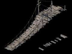 吊桥,大坝桥