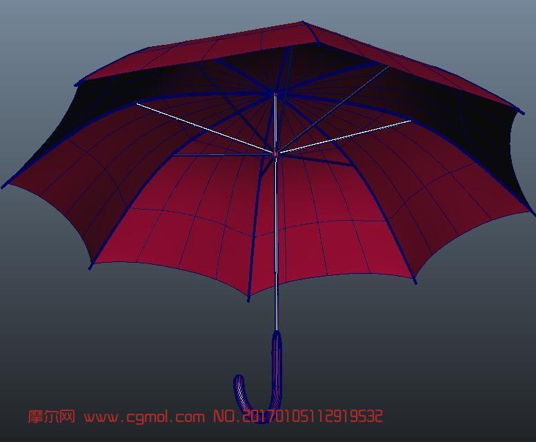 maya小红伞