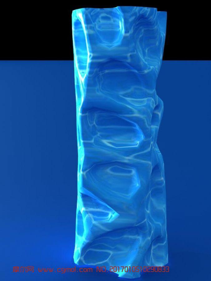 水纹造型装饰柱